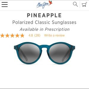 Women's Maui Jim  Polarized sunglasses